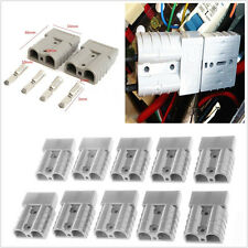 10 X Vehicle 50A 6AWG Plug Battery Quick Connector Kit Winch Disconnect Trailer