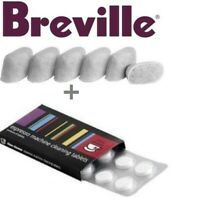 BREVILLE Espresso Accessories - 1 x 8 Cino Cleano Tablets & 1 x 6 Water Filters