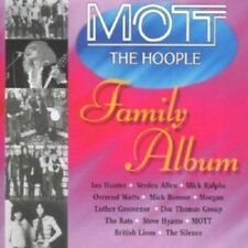 MOTT THE HOOPLE FAMILY ALBUM (IAN HUNTER/MICK RALPHS/+)  CD  ROCK & POP  NEW!
