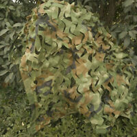 Hunting Camping Woodland Military Camouflage Net Camo Netting Cover 1X2M