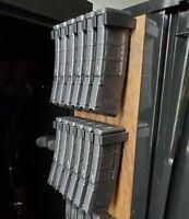 Gun Magazine storage racks for 556/7.62  Pmags, glocks, scorpion, 2011 etc.