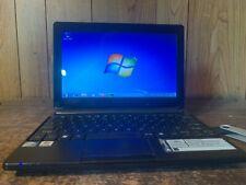 """Gateway 10"""" LT2802u Small Netbook Laptop Intel N455 Win 7 Pro 250gb WIFI Webcam"""
