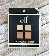 BRAND NEW ELF e.l.f. Pressed Powder Illuminating Palette Highlighting Quad