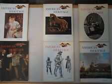 American Heritage Books Set of 6 -1970,1971,1972,1973/ 5 -1969,1974/ 1-1968