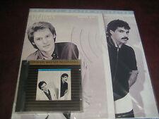 HALL & OATES VOICES RARE JAPAN MFSL 24 KARAT GOLD CD + 180 GRAM MFSL NUMBERED LP