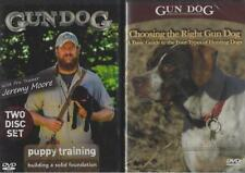 Gun Dog Choosing the Right Dog and Puppy Training  2 DVD Lot NEW 3 Hours