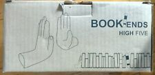 Barnes and Noble High Five Black Hand Bookends