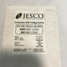 1 Jesco Lighting Dimmable Led Voltge Driver Dl Ps 10024 Jb Dim