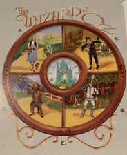 Wizard Of Oz Clock - Bradford Exchange Rare Retired Mint In Box