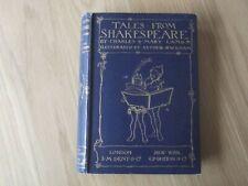 TALES FROM SHAKESPEARE. CHARLES & MARY LAMB. ARTHUR RACKHAM ILLUSTRATIONS. 1909
