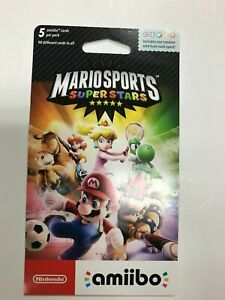 Mario Sports Superstars Amiibo Pack or 5 Cards