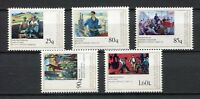 27130) Albanien 1978 MNH Neu Working Class Paintings 5v