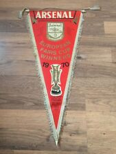 Pennant: Arsenal Fairs Cup Winners 1970 Number 4