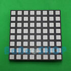 RGB 8x8 60x60mm Colorful Full Color LED Dot Matrix Display Square Common Anode B