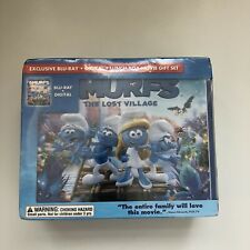 SMURFS THE LOST VILLAGE BLU RAY DIGITAL LUNCH BOX GIFT SET NEW WALMART EXCL