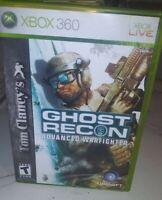 Tom Clancy's Ghost Recon: Advanced Warfighter Microsoft Xbox 360 cib