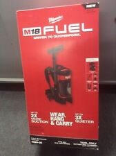 Milwaukee M18 Fuel 3 In 1 Backpack Vacuum 0885-20