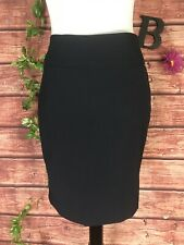 The Limited Skirt size 2 Navy Straight Pencil Stretch Knee Classic Career Slim