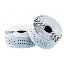 Merida road bike handle Bar Tape - White/Black Dots - Dual Density Microfibre.