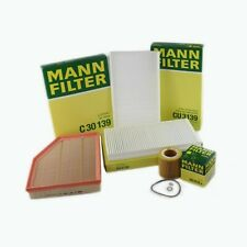 MANN-FILTER Air Oil Cabin Filters RAPKIT043 fits BMW 5 Series E60 525i 530i