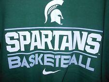 REDUCED** New NIKE Reg.-Fit MICH ST.  Basketball T-Shirt - XS. - FREE SHIP - NEW
