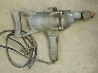 "Vintage Craftsman Electric Drill 1/2"""