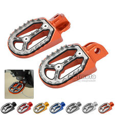 Motorcycle Foot Pegs Rest Pedal Footpegs For KTM/Husavama 85cc-530cc ALL 05-15