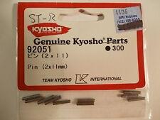 92051 Pin 2x11mm - Kyosho V-One DBX Pure Ten Fazer Super Ten Inferno