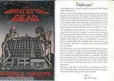Acoustic & Electric Grateful Dead Handbill Flyer Warfield Theater  SF 1980