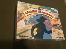 Where in the World is Carmen Sandiego Board Game Mystery Geography 1993