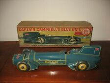Super Rare Boxed Gunthermann Blue Bird Tinplate LAND SPEED CAR Germany Tin Toy