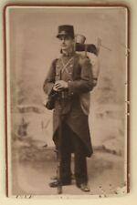 Militaire uniforme Lang Montélimar Cdv France Photo Vintage Citrate