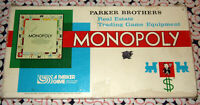 Monopoly Board Game 1961 Replacement Parts & Pieces Vintage Parker Brothers #9