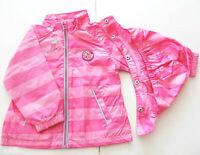 Outdoor Jacke Gr.86 Staccato NEU pink Kapuze abnehmbar gestreift baby sommer