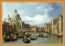 The Entrance to the Grand Canal, Venice Giovanni Canal Venedig Gondel B A1 02088