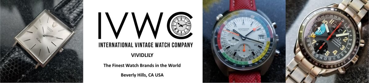 VIVIDLILY Pre-Owned Vintage Watches