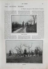 1900 Estampado Caza Temporada Quorn País El Paquete