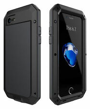 Waterproof Shockproof Aluminum Gorilla Metal Case Cover iPhone SE X 6S 7 8 Plus