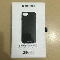 Mophie juice pack Classic Battery Protective Case for iPhone7/8 & 7/8 Plus-Black