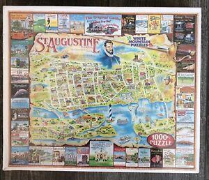 Oldest City in US the White Mountain 1000 PCs Jigsaw Puzzle XL PCs St Augusine