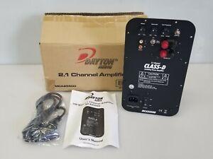 Dayton Audio MCA2550D 100W 2.1 Channel Plate Amplifier, NEW