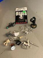 MINIATURES LOT Bones reaper metal models and bits lot