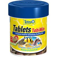 Tetra TabiMin 275 Tablets Complete Food Bottom Feeders Fish Food