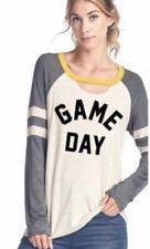Game day Shirt Black Gold Yellow size Large Football Baseball Soccer