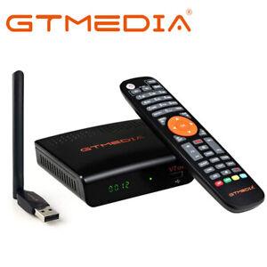 GTMEDIA V7S2X Satellite Receiver DVB-S/S2/S2X Decoder TV Box 1080P Full HD Wifi