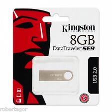PENDRIVE KINGSTON USB 2.0 8 GB MEMORIA USB DTSE9 8 GB MEMORIA SE9 DTSE9H 8 GB