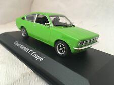 Opel KAdett C Coupe 1974 grün 1:43 MaXichamps Minichamps neu & OVP 940045621