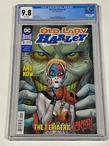 OLD LADY HARLEY #5 CGC 9.8 DC Comics 4/19  Jeriatric Joker!