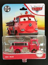 Disney Pixar Cars Red Fire Engine Truck Mattel Deluxe Die-cast 2021