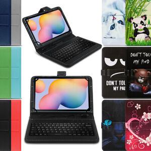 Tablet Hülle Tastatur Tasche Samsung Galaxy Tab A7 10.4 2020 Schutzhülle QWERTZ